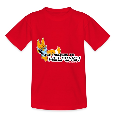 Set Phasers to Helping - Kids' T-Shirt