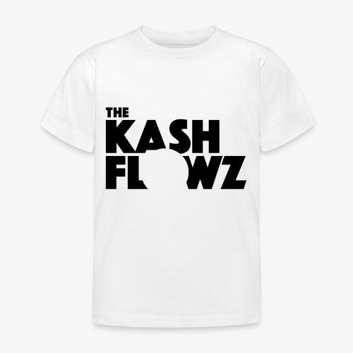 The Kash Flowz Official Black - T-shirt Enfant