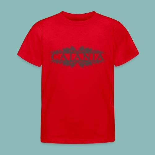 Caiania-logo harmaa - Lasten t-paita