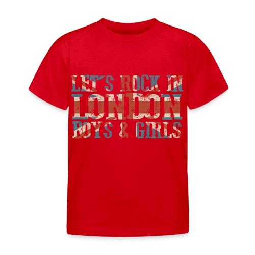 LET'S ROCK IN LONDON - Maglietta per bambini