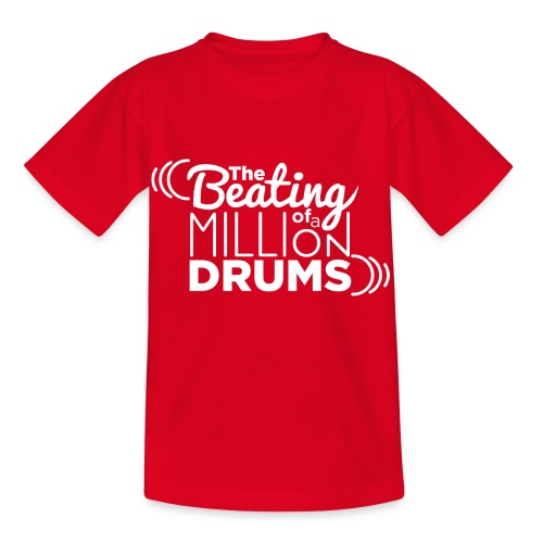 The Beating of a millions drums - Camiseta niño