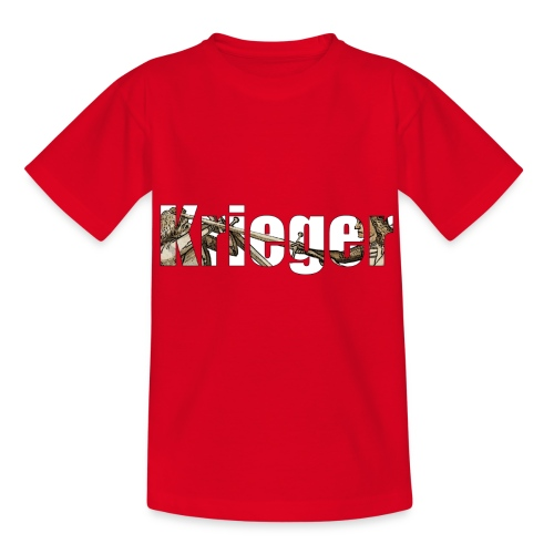 krieger - Kinder T-Shirt