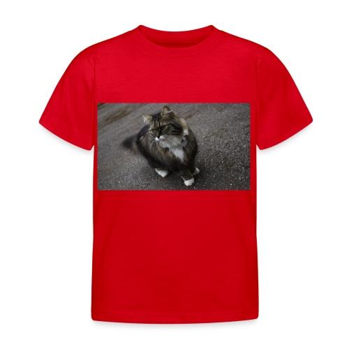 Mummon naapurin kissa - Lasten t-paita