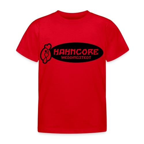 hahncore_sw_nur - Kinder T-Shirt
