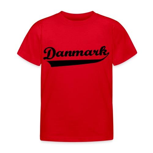 Danmark Swish - Børne-T-shirt