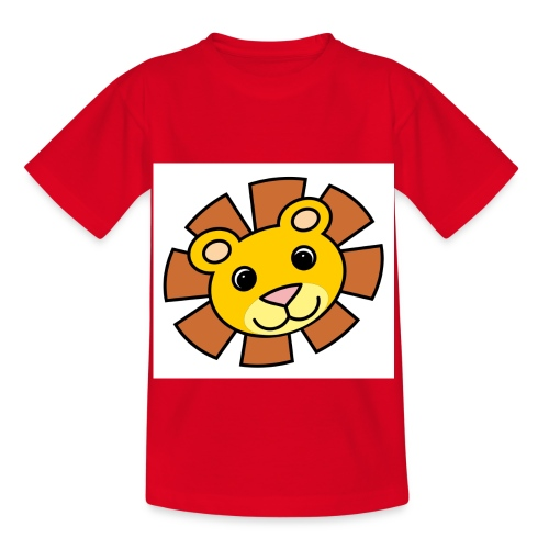 funimals_lejon_f--rg_-2- - T-shirt barn