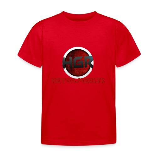 logo + tekst! - Kinderen T-shirt