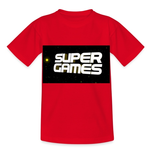 #SuperGames - Kinder T-Shirt