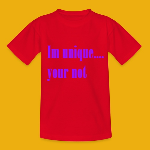 I and H unique merch - Kids' T-Shirt