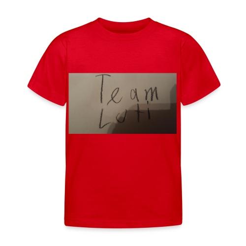 Team Luti - Kinder T-Shirt