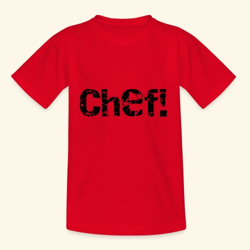 chef! - T-shirt barn
