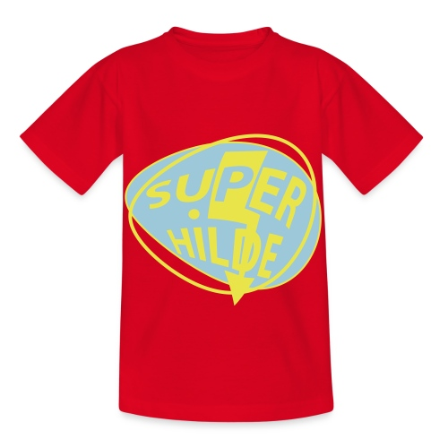 superhilde - Kinder T-Shirt