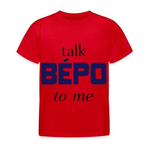 talk bépo new - T-shirt Enfant