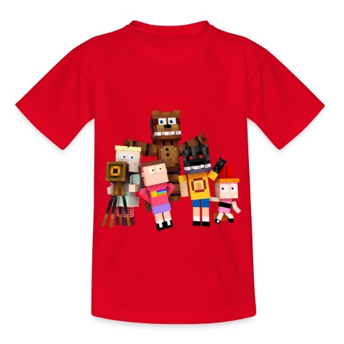 Withered Bonnie Productions - Meet The Gang - Kids' T-Shirt
