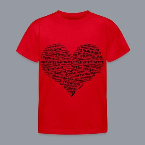#lovebluewaterdiveresort - Kinder T-Shirt