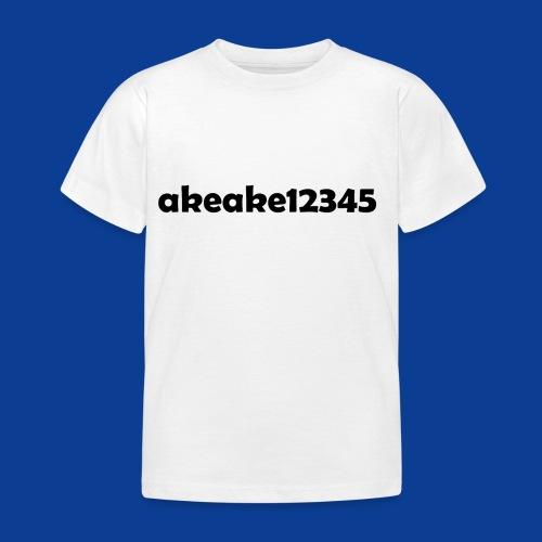 My new shirt - Kids' T-Shirt