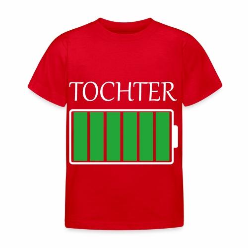 Tochter volle Energie - Kinder T-Shirt