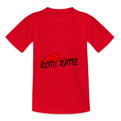 Rote_Ratte - Kinder T-Shirt