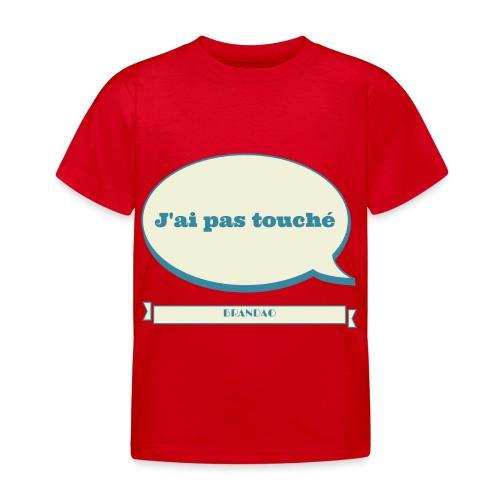 pas-touché-brandao - T-shirt Enfant