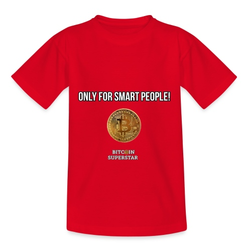 Only for smart people - Maglietta per bambini