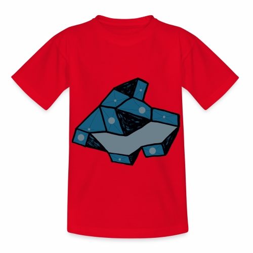 dot rock - Kinderen T-shirt