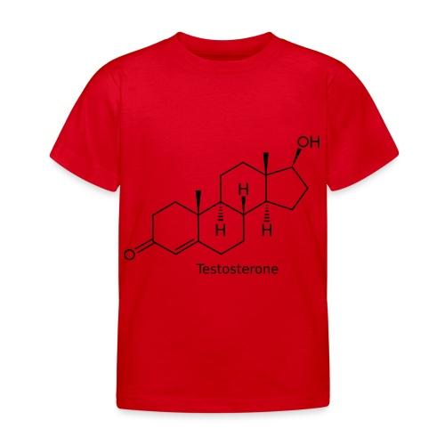 Testosterone - Bodybuilding, Crossfit, Fitness - Kinder T-Shirt