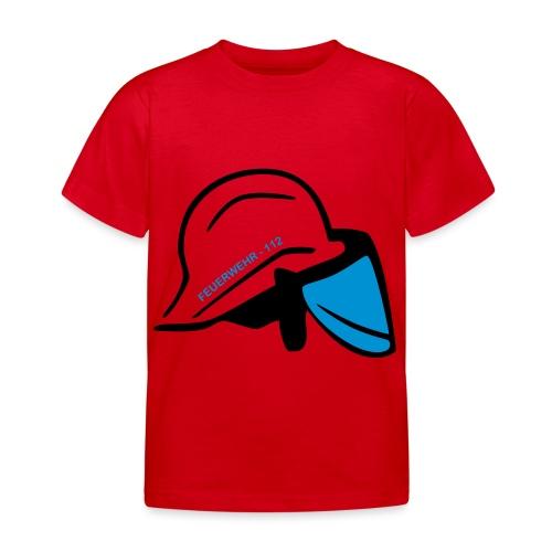 Feuerwehr Helm - Kinder T-Shirt
