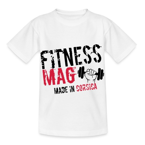 Fitness Mag made in corsica 100% Polyester - T-shirt Enfant