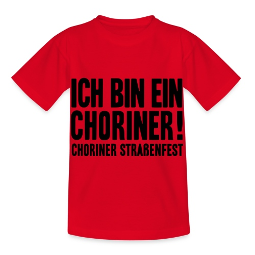 Ich bin ein Choriner! - Kinder T-Shirt