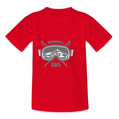 Downhill Ski - Kids' T-Shirt