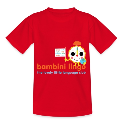 bambini lingo - the lovely little language club - Kids' T-Shirt