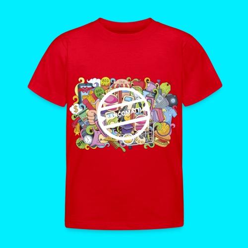 maglia logo doodle - Maglietta per bambini