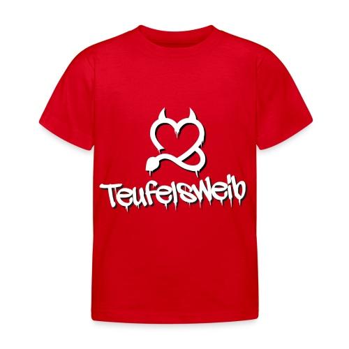 Teufelsweib - Kinder T-Shirt