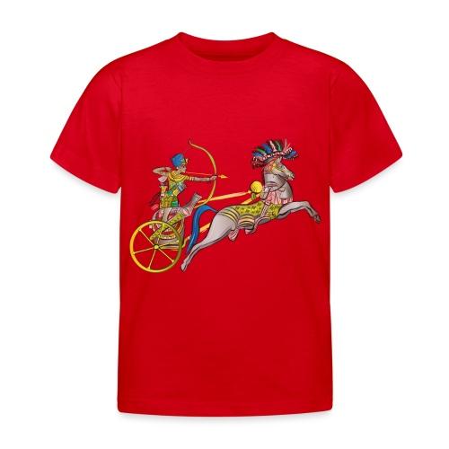 Pharao mit Streitwagen - Kinder T-Shirt