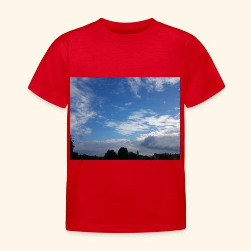 himmlisches Wolkenbild - Kinder T-Shirt