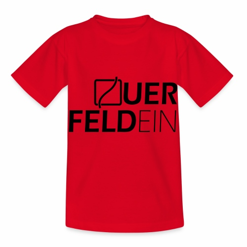 Querfeldein Logo - Kinder T-Shirt