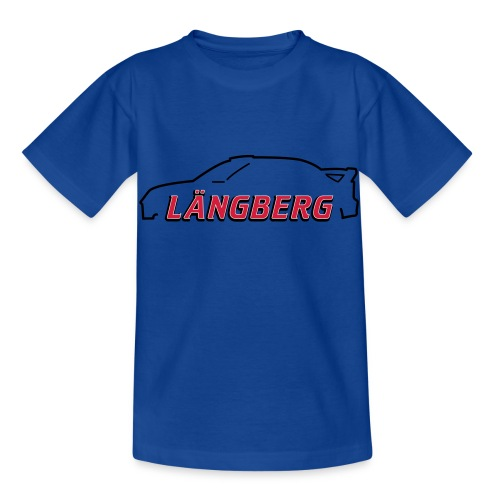 logotype Laengberg - T-shirt barn