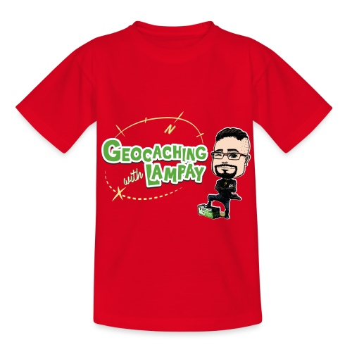 Geocaching With Lampay - T-shirt Enfant