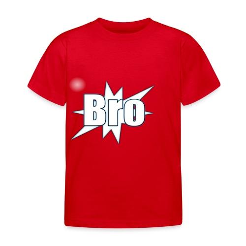 Bro hats and shirts - Børne-T-shirt