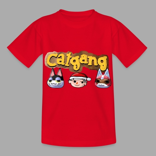 Animal Crossing CatGang - Kinder T-Shirt