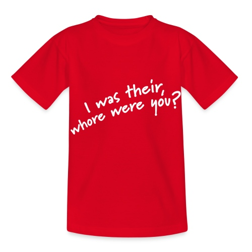Dyslexic I was there - Kinderen T-shirt