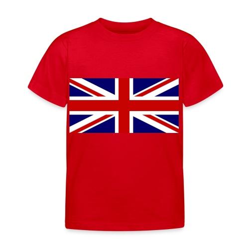 drapeau anglais - T-shirt Enfant