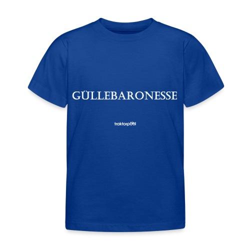 Güllebaronesse - Kinder T-Shirt