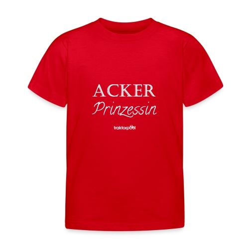 Ackerprinzessin - Kinder T-Shirt