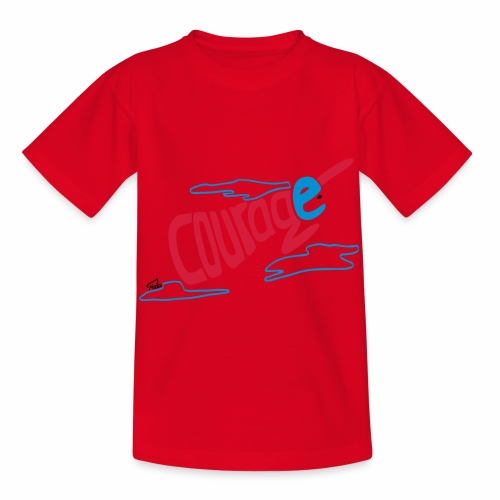 Courage superhero eco / fairtrade - Kids' T-Shirt