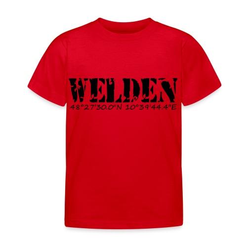 WELDEN_NE - Kinder T-Shirt