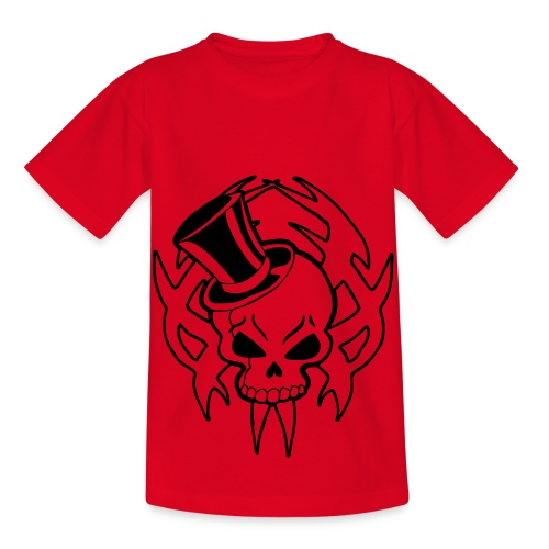 snazzy skull - Kids' T-Shirt