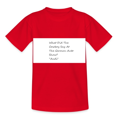 Car Joke - Kids' T-Shirt
