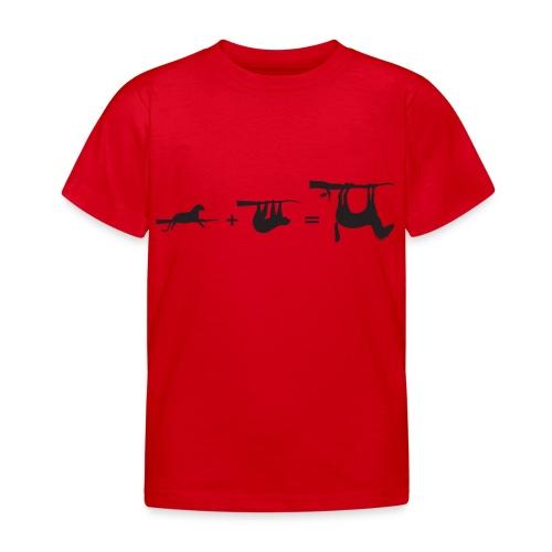 Lui paard Formule Luipaar - Kinderen T-shirt