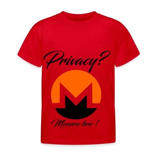 Moneroooo - T-shirt Enfant